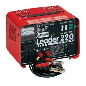 caricabatteria avviatore Telwin Leader 220 Start 12/24V 230V caricabatterie