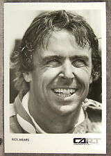 BLACK & WHITE PHOTO ~ RICK MEARS ~ CART