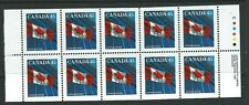 CANADA SG1358a 1995 45c BOOKLET PANE  MNH