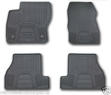 OEM NEW 2012-2015 Ford Focus All-Weather Vinyl Floor Mats, Rubber Catch-All