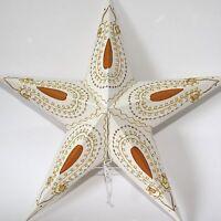 Estrella Papel Navidad de Luz Lámpara Plegable 53