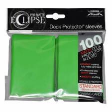 Ultra Pro PRO-Matte ECLIPSE Sleeves x 100 - Matte - Lime Green