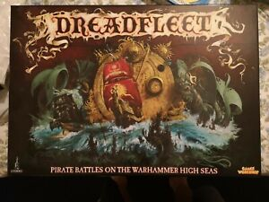 Dreadfleet Boxed Game Complete