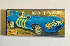 """Vintage Blue """"J"""" Racer by Paul Lindberg Line Model Kit #654"""