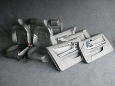 LEDER Sport Ausstattung Audi A3 8P Sitze Ausstattung SOUL schwarz S-Line