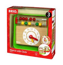 Brio - Holzspielzeug - Lernuhr mit Zählrahmen - ab 3 Jahre, Neu, Ovp, 30447