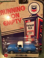 Greenlight Running On Empty 1972 Ford F-100 Pickup.  CHEVRON
