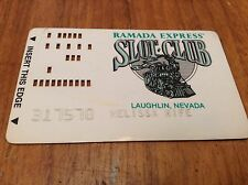 Obsolete Ramada Casino Punch Raised Vintage Slot Card *Laughlin Neveda