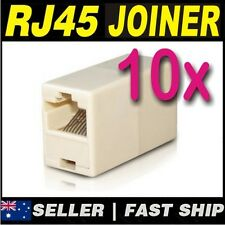 2x RJ45 CAT5e CAT6 Network LAN Cable Extension Coupler Joiner Connector ADSL 2+