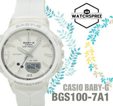 Casio Baby-G Step Tracker Running Series Watch BGS100-7A1 AU FAST & FREE