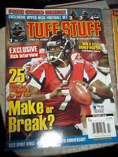 OCTOBER 2006 TUFF STUFF SPORTS GUIDE & COLLECTIBLES PRICE GUIDE incl UD CARD SET