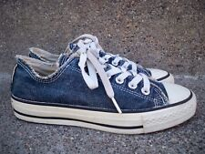 f5643d6f433 Vintage CONVERSE Chucks Blue All Star Low Top Shoes Sneakers Men s Kicks  Size 5