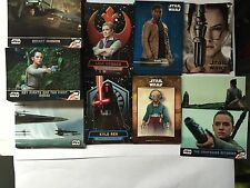 2016 Star Wars The Force Awakens Series 2 Master Set 270 Cards,Base,Green Poster