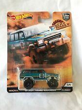 Hot Wheels Car Culture '88 Jeep Grand Wagoneer 1:64 Desert Rally