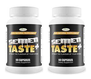 2 SEMEN TASTE Sweet Delicious Better Tasting Flavour Sperm Semen Man Milk Cum