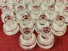 24 x VINOLOK 18.5 Glass Bottle Stoppers Cap Corks Wine Bottle Brew - Rubber Seal