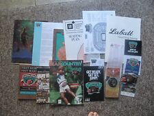 1995 Vancouver Grizzlies FIRST GAME Media Package+. Ticket, program, guide, etc.