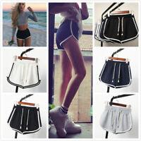 Women Sports Shorts Casual Ladies Beach Summer Running Gym Yoga Hot Pants S-3XL