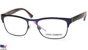 "D&G Dolce & Gabbana DG 1274 1280 MATTE DARK BLUE EYEGLASSES 53-18-140mm ""READ"""