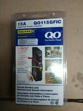 Square D Qo115Gfic Circuit Breaker 15 amp Qo Gfci breaker new in box