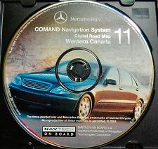 2000 2001 2002 Merdedes Benz S600 S500 S430 S55 CL600 Navigation #11 West Canada