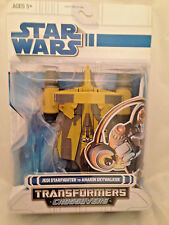 Transformers Star Wars CrossOvers Jedi Starfighter to Anakin Skywalker NEW MIB