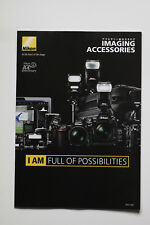 NIKON IMAGING ACCESSORIES Brochure  Free shipping  Latest