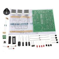 DIY Kits AT89C2051 Electronic Clock Suite Electronic Parts and Components SDE