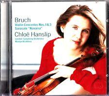 Bruch: Violin Concertos 1 & 3; Sarasate , Chloe Hanslip CD -Martyn Brabbins