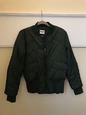 Wrangler Green Bomber Jacket - Large