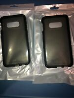 Lot Of 2pc Tech21 Evo Check Case for Samsung Galaxy S10e Smokey