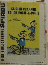 MINI SCIPIO STORY SPIKE KING OF THE DOOR RING sup SPIROU No.1257 Year 1962