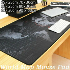 Gaming Large Size Mouse Pad Classic World Map Mousepad Computer Keyboard Mat