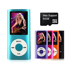 Support TF Card Micro Usb Port Slim Small Portable MP3 Music/Video Media Player