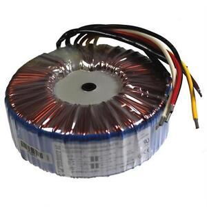 Toroidal transformer 500VA 2x115V 2x12V 24V Sedlbauer RSO-825057