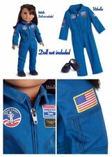 American Girl Luciana Flight Suit-Blue Suit & Sneakers New in box NO Doll Space