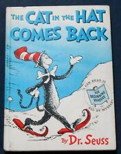 Dr. Seuss THE CAT IN THE HAT COMES BACK stated 1st prtg