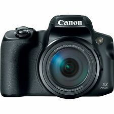 (NEW) Canon PowerShot SX70 HS 20.3 MP - Black (U.S Model, Warranty)