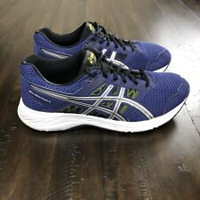 Men's ASICS GEL-Contend 5  Running Athletic Shoes Blue/White Size 9 Extra Wide
