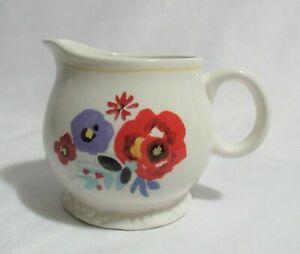 The Pioneer Woman  Creamer  Flea Market  Stoneware  Floral
