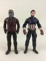 "Marvel Captain America Star Lord 6"" Action Figures Avengers End Game 2017 Hasbro"