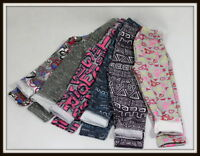 Girls Winter Thick Warm Cotton Long Full Leggings Age 3 4 5 6 7 8 9 10 11 12 14