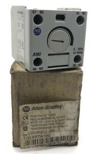 Allen Bradley A180 100-FPT Pneumatic Timer SER B 2-180s Delay 100-FPTA180