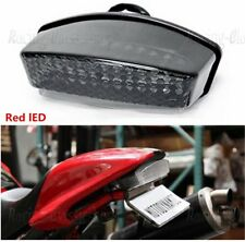RED LED TailLight For Ducati Monster 400/600/620/695/750/800/900/1000 94-2008 RC