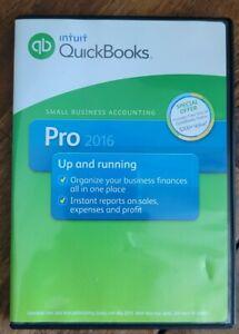 Intuit Quickbooks Pro 2016 Desktop For Windows Full US/English Retail Version