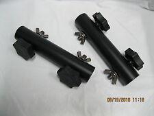 pair rack coupling drum steel with plastic knobs 7 inch in length rack sleeve