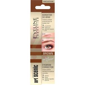 Eveline Cosmetics Eyebrow Corrector 3 in 1 Brown 10 ml