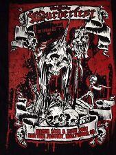 L.A. murderfest 2007 Vintage T-shirt NECROLOGIO REPULSIONE BRUTALE verità deceduto