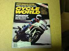 Cycle World Magazine October 1981