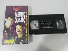 FAEMINO Y CANSADO DENTRO DE UNA MANADA DE PUMAS 76 MIN - VHS TAPE CASTELLANO